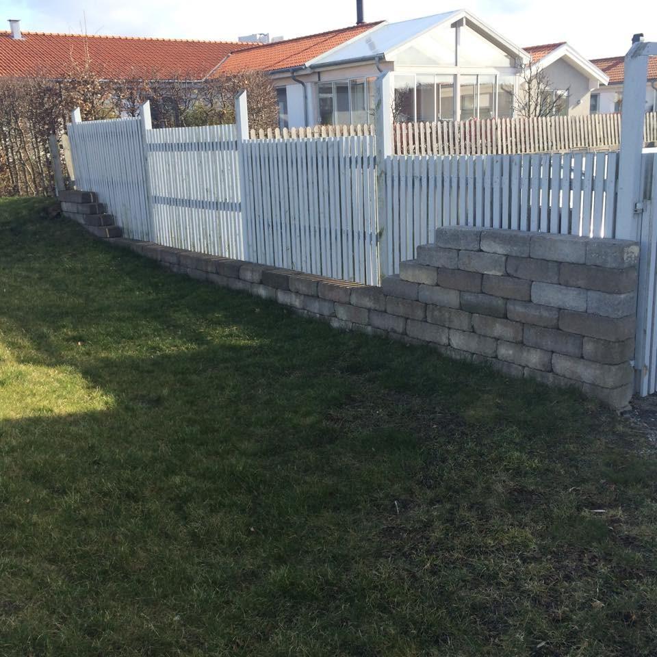 Bygglov höja stenmur framför staket? | Byggahus.se