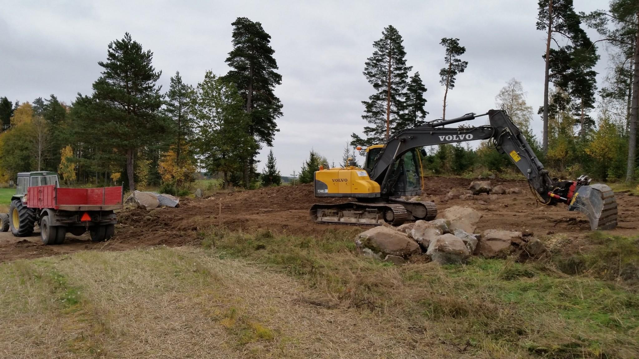 Projekt: bygger fh talgoxen