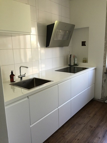 vårt nya kök