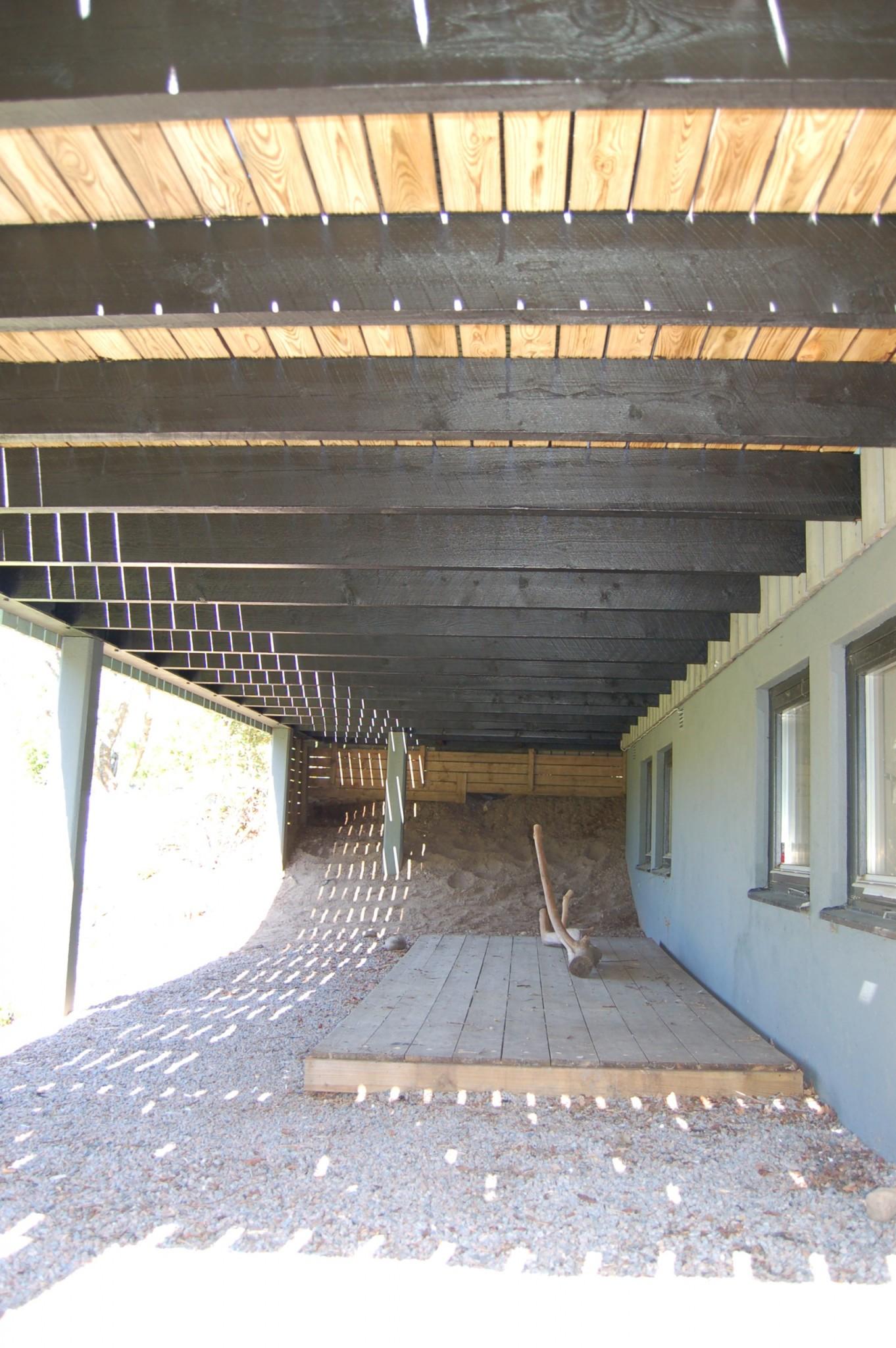 Projekt: uterum/inglasad altan