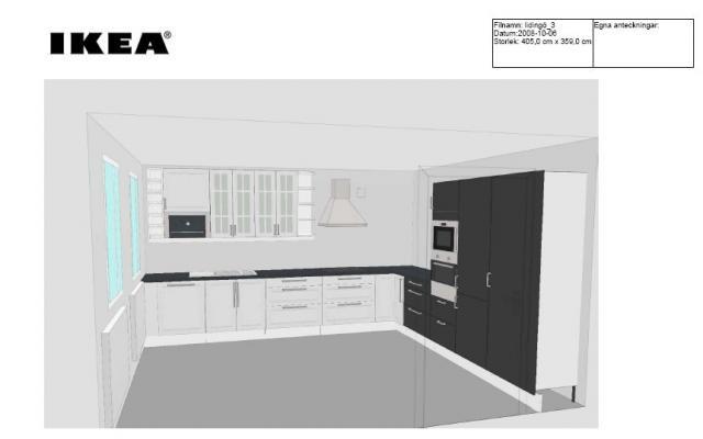 Min Senaste Ikea Planner Skiss Byggahusse