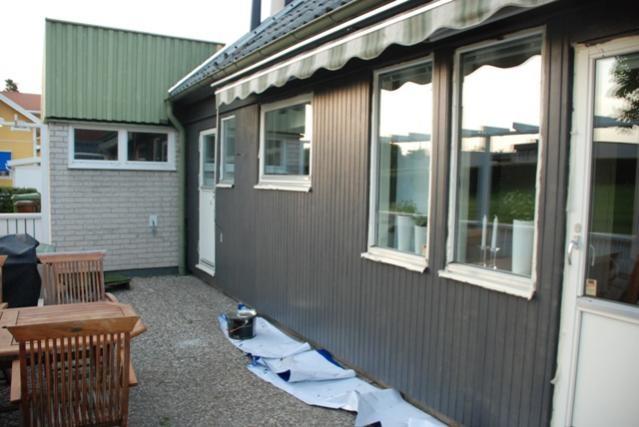 Byta panel, inget fönsterfoder : fönster foder : Fönster
