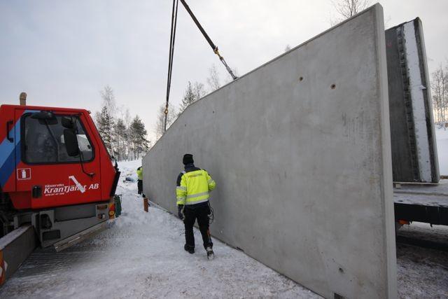 prefab betongelement pris