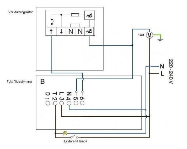 pax 230 kopplingsschema